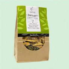 Травяной чай № 11 «Златоцвет» (с черникой и фасолью)